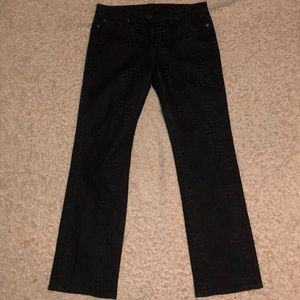 cynthia cynthia steffe pants embroidered black 8